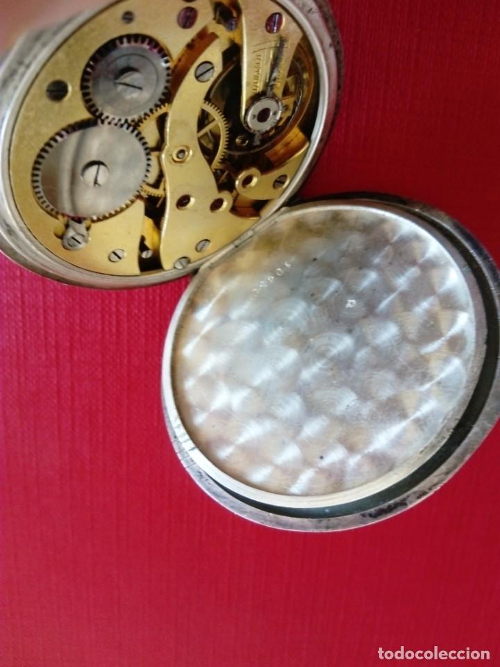 Relojes de bolsillo: Reloj de bolsillo de plata Chronometre - Foto 4 - 236245050