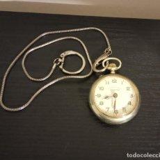Relógios de bolso: -RELOJ DE BOLSILLO ELETTA SYSTEME ROSKOPF SWISS MADE , FUNCIONANDO , TIENE MUCHOS AÑOS. Lote 236270155