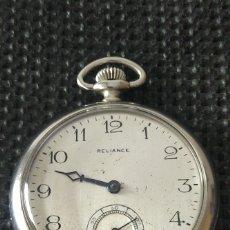 Relojes de bolsillo: RELOJ DE BOLSILLO RELIANCE MADE IN USA. Lote 236566040