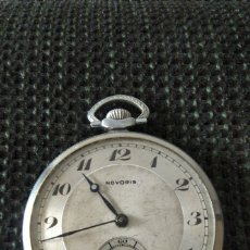 Relojes de bolsillo: RELOJ DE BOLSILLO NOVORIS (ORIS WATCH CO.SA). Lote 236695555