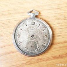 Relojes de bolsillo: RELOJ SUIZO DE LOS AÑOS 20 DE MARCA DESCONOCIDA - NO FUNCIONA. Lote 236774985