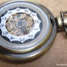 Relojes de bolsillo: RELOJ DE BOLSILLO DE CUERDA. Lote 236842070