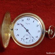 Relojes de bolsillo: RELOJ DE BOLSILLO DE TRES TAPAS. Lote 237211500