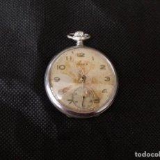 Relojes de bolsillo: ANTIGUO RELOJ BOLSILLO BUREN-LOTE 259-6 FUNCIONA PERFECTAMENTE. Lote 237861880
