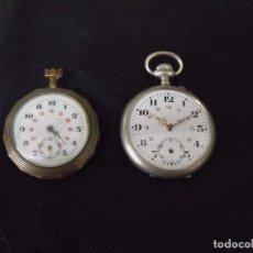 Relojes de bolsillo: 2 ANTIGUOS RELOJES BOLSILLO - LOTE 259-6. Lote 237862625
