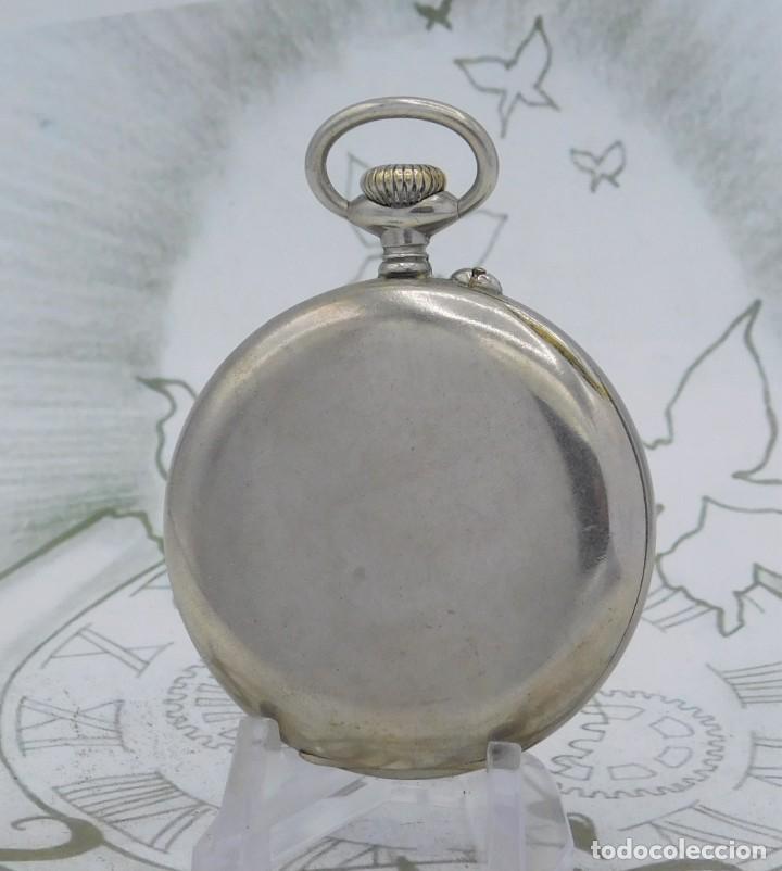 Relojes de bolsillo: DOMINA-MUY BONITO RELOJ DE BOLSILLO-CON LAS 24 HORAS-CIRCA 1916-FUNCIONANDO - Foto 9 - 239905455