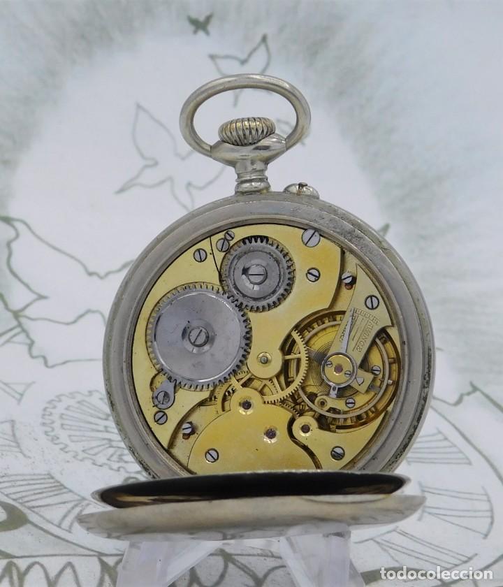 Relojes de bolsillo: DOMINA-MUY BONITO RELOJ DE BOLSILLO-CON LAS 24 HORAS-CIRCA 1916-FUNCIONANDO - Foto 10 - 239905455