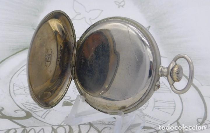 Relojes de bolsillo: DOMINA-MUY BONITO RELOJ DE BOLSILLO-CON LAS 24 HORAS-CIRCA 1916-FUNCIONANDO - Foto 3 - 239905455