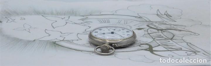 Relojes de bolsillo: DOMINA-MUY BONITO RELOJ DE BOLSILLO-CON LAS 24 HORAS-CIRCA 1916-FUNCIONANDO - Foto 11 - 239905455