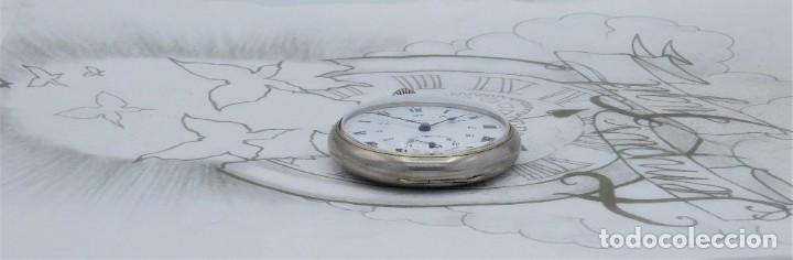 Relojes de bolsillo: DOMINA-MUY BONITO RELOJ DE BOLSILLO-CON LAS 24 HORAS-CIRCA 1916-FUNCIONANDO - Foto 12 - 239905455
