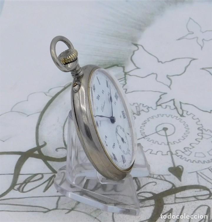 Relojes de bolsillo: DOMINA-MUY BONITO RELOJ DE BOLSILLO-CON LAS 24 HORAS-CIRCA 1916-FUNCIONANDO - Foto 13 - 239905455