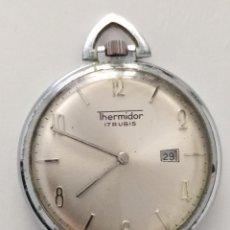 Relógios de bolso: RELOJ DE BOLSILLO THERMIDOR A CUERDA. Lote 240855630