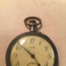Relojes de bolsillo: ANTIGUO RELJ DE BOLSILLO EN LA ESFERA CANIGO - REMONTOIR ANCRE LINEDROITE 15 RUBIS CAJA DE PLATA ,. Lote 242159085