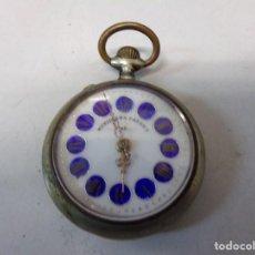 Relógios de bolso: RELOJ DE BOLSILLO MERIDIANA PATENT PRIMA FUNCIONANDO Y EN BUEN ESTADO. Lote 242485960