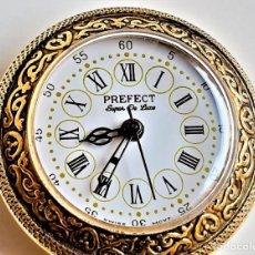 Relógios de bolso: PREFECT RELOJ DE BOLSILLO MECANICO MOVIMIENTO SUIZO - 33.MM DIAMETRO (SI FUNCIONA). Lote 242903585