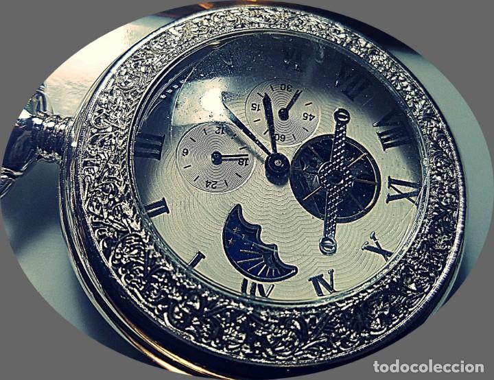 RELOJ BOLSILLO NIGHT AND DAY. (Relojes - Bolsillo Carga Manual)