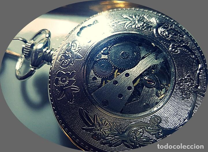 Relojes de bolsillo: RELOJ BOLSILLO NIGHT AND DAY. - Foto 2 - 243349615