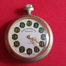 Relojes de bolsillo: RELOJ SYST-ROSKOPF PATENT 17 JEWELS .LE FALTA EL VOLANTE NO FUNCIONA . MIDE 40 MM DIAMETRO. Lote 244189005