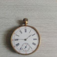 Relojes de bolsillo: RELOJ DE BOLSILLO SIGLO XIX MARCA CUIVRE - GUIVRE CAJA DE ORO 24 K. Lote 244514660