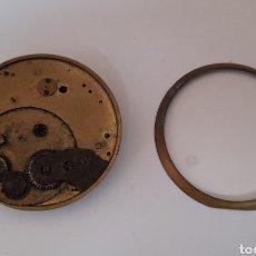 Relojes de bolsillo: RELOJ SWISS DE BOLSILLO PARA RESTAURAR O PIEZAS . VER FOTOS.. Lote 244673840