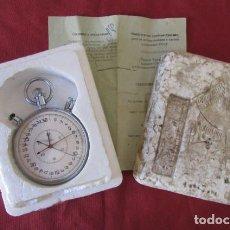 Relojes de bolsillo: ANTIGUO CRONÓMETRO MECÁNICO CUERDA DE PRECISIÓN SOVIÉTICO MARCA SLAVA UNIÓN SOVIÉTICA URSS RUSIA. Lote 244729560