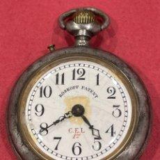Relógios de bolso: ANTIGUO RELOJ DE BOLSILLO, ROSKOPF PATENT. FUNCIONA.. Lote 245004380