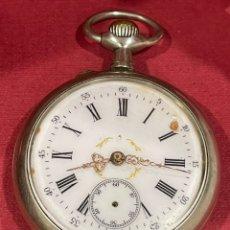 Relojes de bolsillo: ANTIGUO RELOJ DE BOLSILLO. S.XIX. FUNCIONA.. Lote 245010035