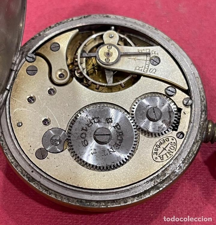 Relojes de bolsillo: Antiguo reloj de bolsillo, de época Modernista. - Foto 6 - 245013595