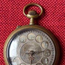 Relojes de bolsillo: RELOJ DE BOLSILLO DE CARGA MANUAL - TIPO ROSKOFF - CABALLERO - NO FUNCIONA - DIAMETRO 52 MM. Lote 245081100