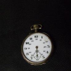 Relojes de bolsillo: ANTIGUO RELOJ BOLSILLO EN PLATA AÑO 1880 - FUNCIONA- LOTE 259-10. Lote 245259340