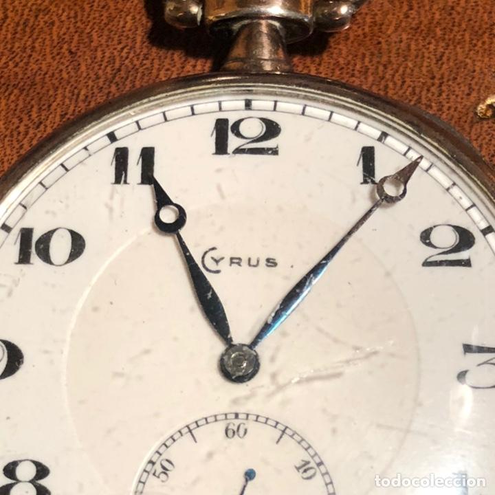 Relojes de bolsillo: Reloj cronografo de bolsillo Cyrus - Foto 2 - 245564010