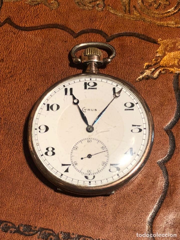 RELOJ CRONOGRAFO DE BOLSILLO CYRUS (Relojes - Bolsillo Carga Manual)