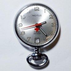 Orologi da taschino: RELOJ DE ENFERMERA. INCITUS. 17 RUBIS ANTICHOC. CUERDA. FUNCIONANDO. SUIZO. 30 MM.. Lote 245754160