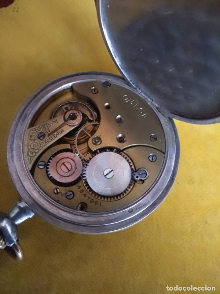 Relojes de bolsillo: Reloj de bolsillo OMEGA de plata, Grand Prix Paris 1900 - Foto 6 - 246057460
