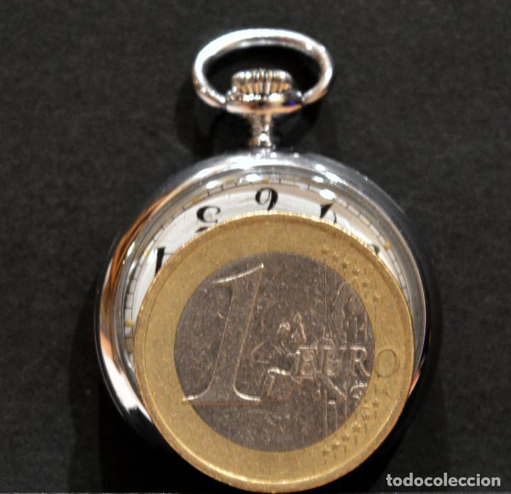 Relojes de bolsillo: PEQUEÑO RELOJ DE BOLSILLO SUIZO ROYCE COLGANTE AUTOMATICO Y CARGA MANUAL 17 RUBIS INCABLOC - Foto 4 - 246334845