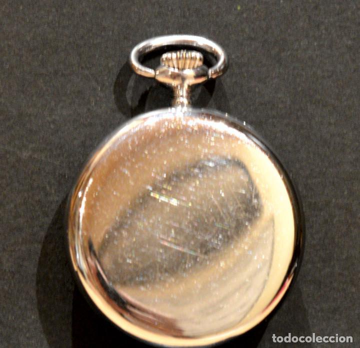 Relojes de bolsillo: PEQUEÑO RELOJ DE BOLSILLO SUIZO ROYCE COLGANTE AUTOMATICO Y CARGA MANUAL 17 RUBIS INCABLOC - Foto 8 - 246334845