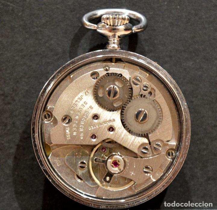 Relojes de bolsillo: PEQUEÑO RELOJ DE BOLSILLO SUIZO ROYCE COLGANTE AUTOMATICO Y CARGA MANUAL 17 RUBIS INCABLOC - Foto 9 - 246334845