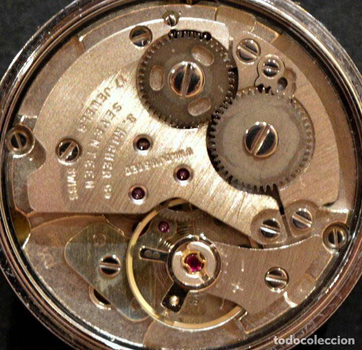 Relojes de bolsillo: PEQUEÑO RELOJ DE BOLSILLO SUIZO ROYCE COLGANTE AUTOMATICO Y CARGA MANUAL 17 RUBIS INCABLOC - Foto 10 - 246334845
