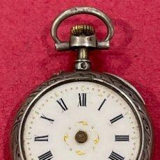 Relojes de bolsillo: ANTIGUO RELOJ DE BOLSILLO DE SEÑORA. S.XIX. Lote 246449205