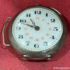Relojes de bolsillo: ANTIGUO RELOJ DE BOLSILLO DE PLATA, DE SEÑORA. PPS. S.XX. Lote 246460695