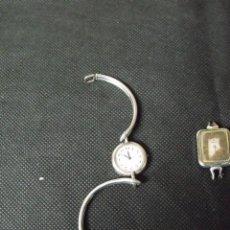 Relojes de bolsillo: 2 RELOJES PULSERA ART-DECO-PLATA 800-AÑO 1910-LOTE 259-13. Lote 246751845