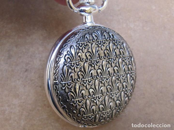 Relojes de bolsillo: RELOJ DE BOLSILLO DE CUERDA CON FASE LUNAR - Foto 9 - 247613505