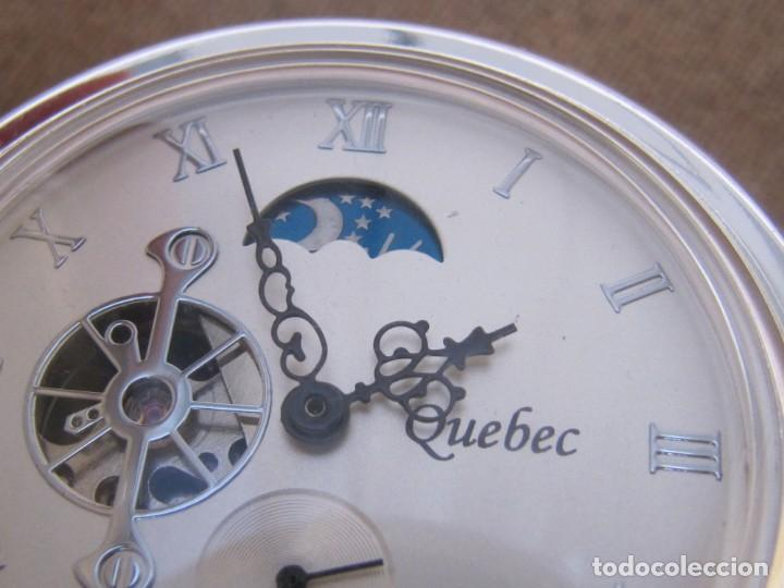Relojes de bolsillo: RELOJ DE BOLSILLO DE CUERDA CON FASE LUNAR - Foto 16 - 247613505