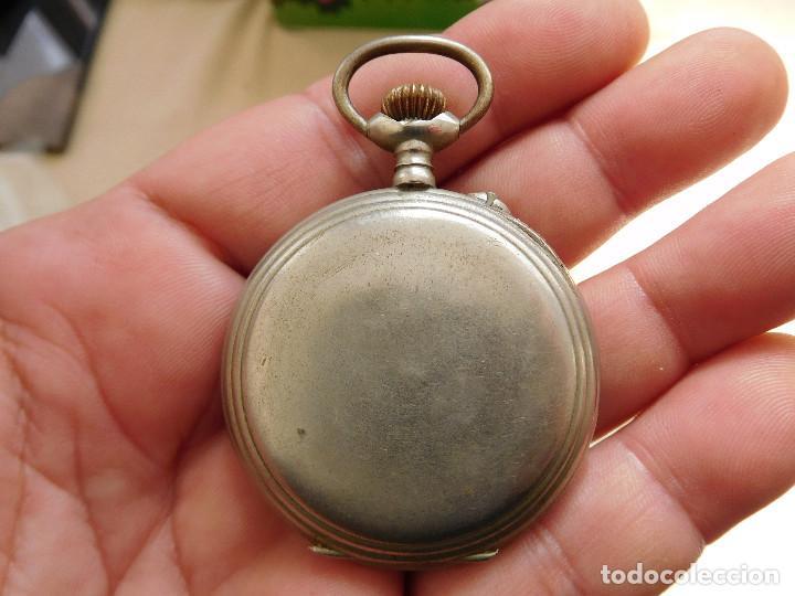 Relojes de bolsillo: Reloj de bolsillo 8 días cuerda de la marca Hebdomas - Foto 12 - 247711100