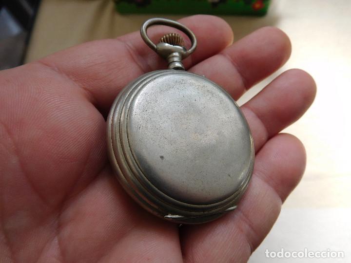 Relojes de bolsillo: Reloj de bolsillo 8 días cuerda de la marca Hebdomas - Foto 13 - 247711100