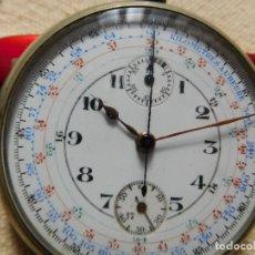 Relojes de bolsillo: RELOJ DE BOLSILLO CRONOGRAFO AÑO 1900 APROX.. Lote 247743920