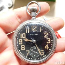 Relojes de bolsillo: RELOJ DE BOLSILLO MILITAR DE LA MARCA WALTHAM AÑO 1942. Lote 247749545