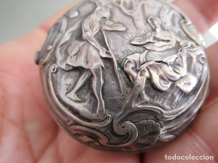 Relojes de bolsillo: Reloj de bolsillo catalino ingles Jones John con chichonera repujada plata año 1780 aprox. - Foto 21 - 247978135