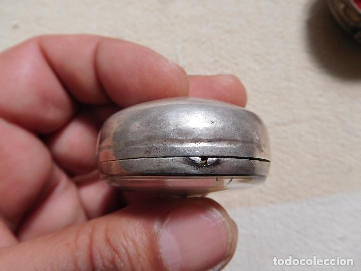 Relojes de bolsillo: Reloj de bolsillo catalino ingles Jones John con chichonera repujada plata año 1780 aprox. - Foto 34 - 247978135