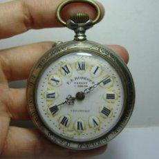Pocket watches: RELOJ DE BOLSILLO. ROSKOPF LEGÍTIMO. CAJA FERROVIARIA. EXPOS.UNIV.PARIS 1900. RARO.. Lote 248186600